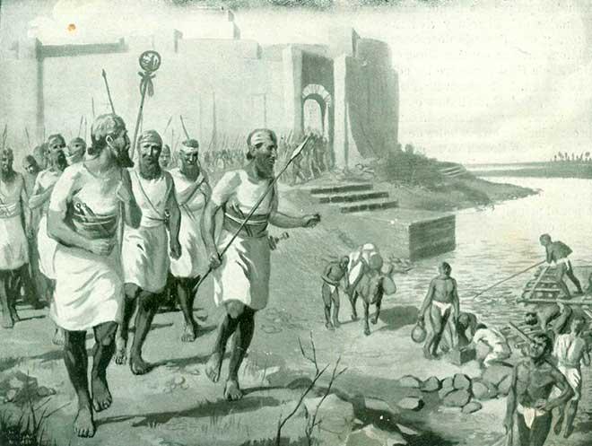 imperio asirio con Assur uballit I