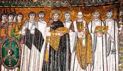 Imperio Bizantino San Vital Justiniano