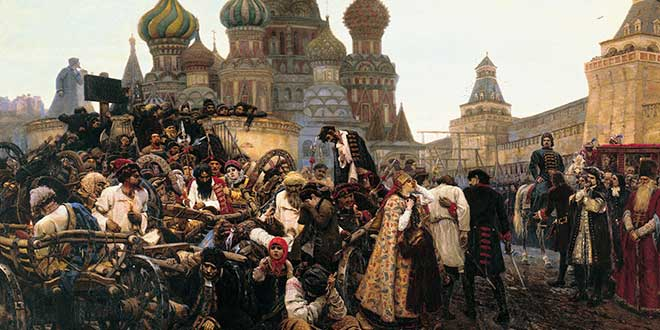 imperio ruso streltsy