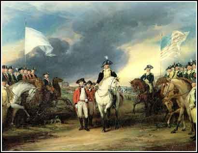 Independencia EEUU estados unidos militares