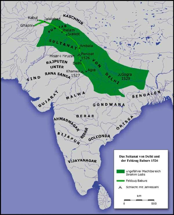 india invasion babar