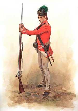 infanteria inglesa