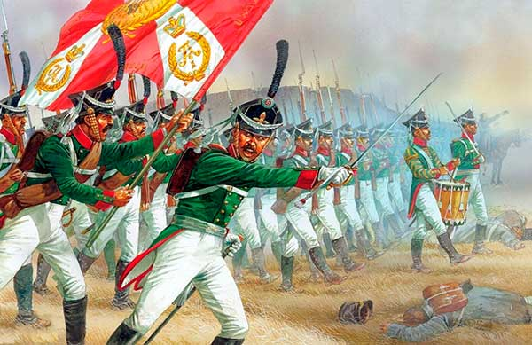 infanteria rusa