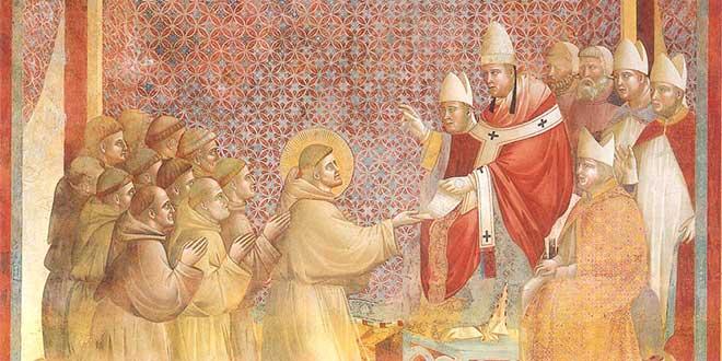 Papa Inocencio III y San Francisco de Asís