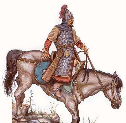jinete hungaro magiar invasiones