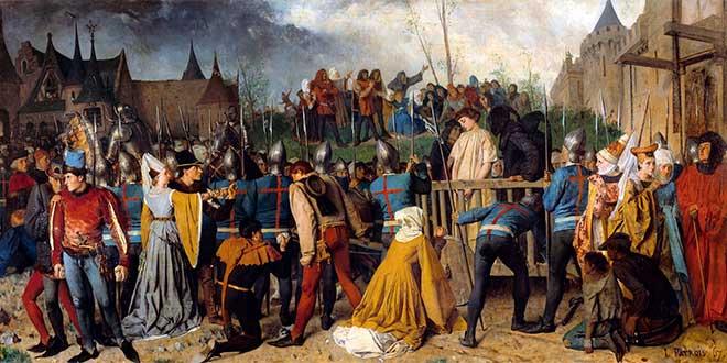 Ejecución de Juana de Arco