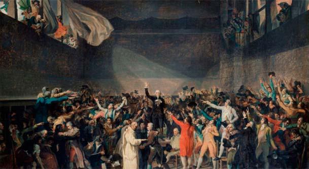 juego pelota revolucion francesa