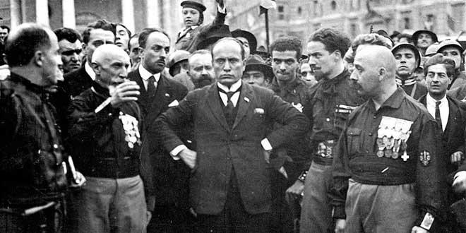 Marcha sobre Roma: Benito Mussolini