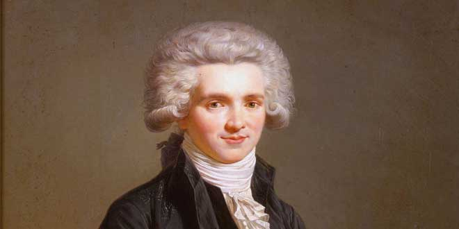 Photo of Maximilien Robespierre