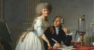 Lavoisier y su esposa