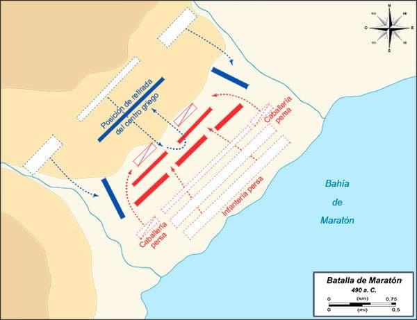 mapa batalla maraton