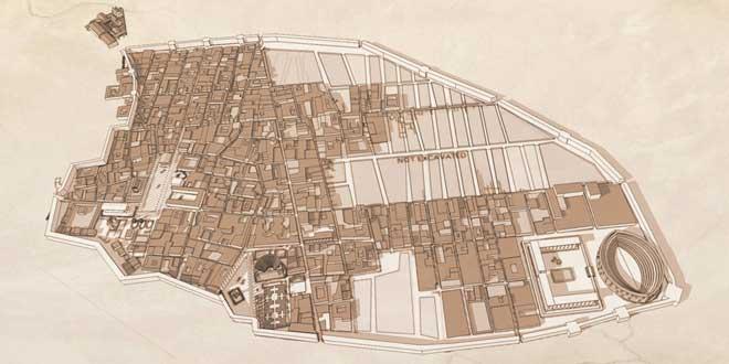 Mapa de Pompeya