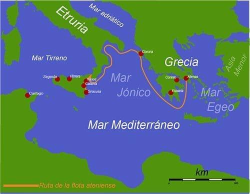 mapa expedicion silicia