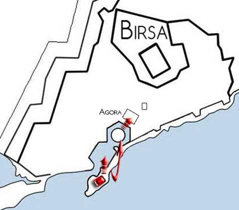 mapa invasion cartago
