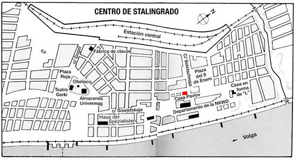 mapa de stalingrado