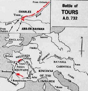 mapa tours poitiers