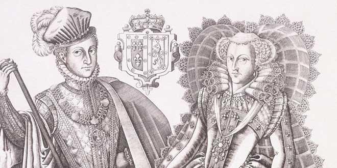 María Estuardo de Escocia y Darnley