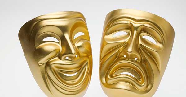 mascaras comedia drama griega