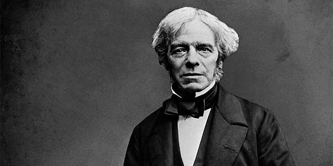 Photo of Michael Faraday