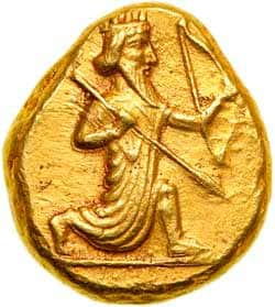 moneda artajerjes II