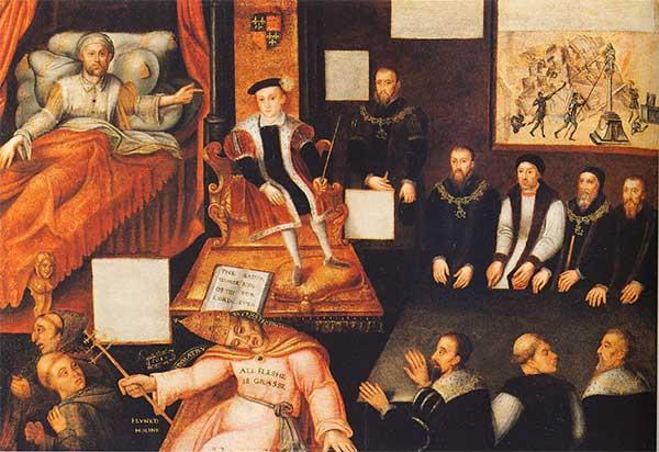 Muerte de Enrique VIII