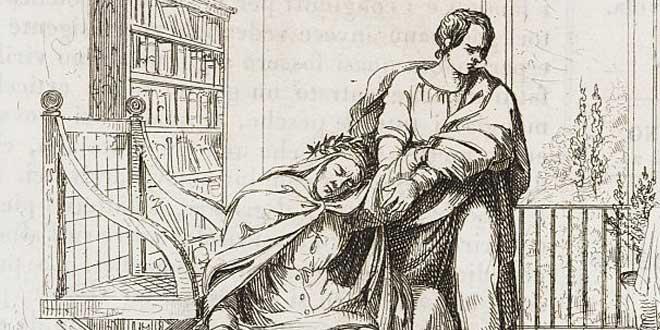 Muerte de Francesco Petrarca