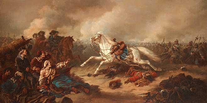 muerte gustavo II batalla lutzen