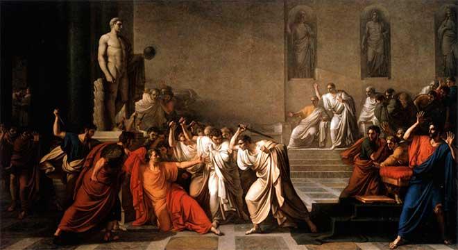 muerte julio cesar