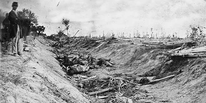 muertos batalla antietam