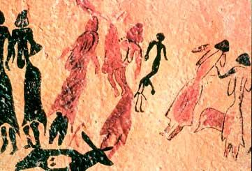 mujeres cueva cogull
