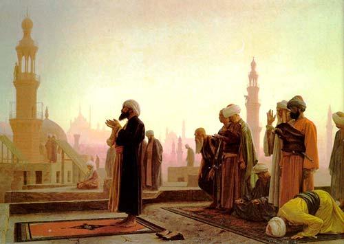 musulmanes orando