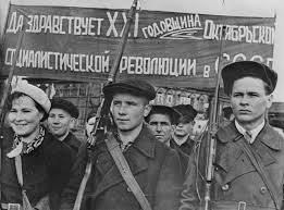 obreros revolucion rusa
