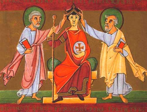 oton iii coronacion