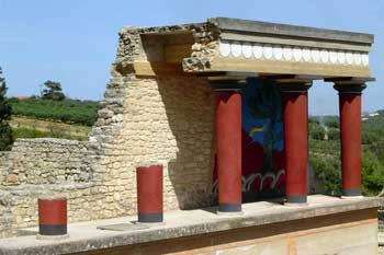 Palacio Cnosos Miinoica Cretense