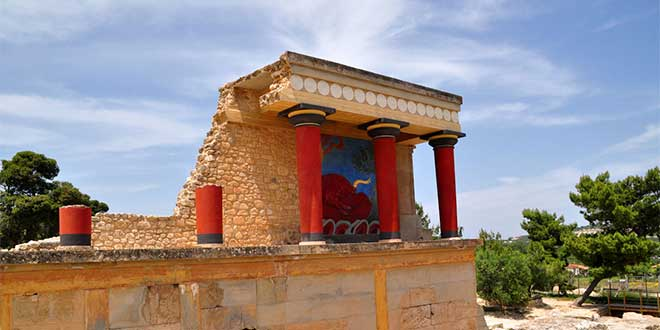 Photo of El palacio de Knossos