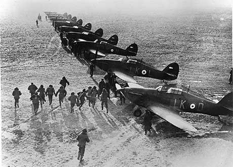 pilotos RAF