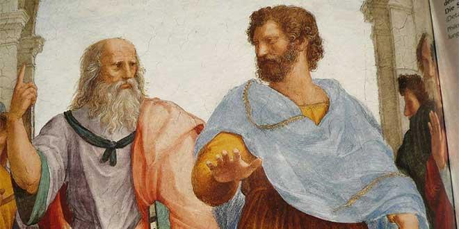 Platón y Aristósteles