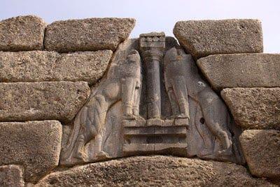 Puerta de los Leones Micenas
