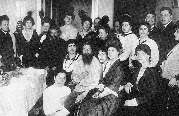 Rasputín y sus seguidores