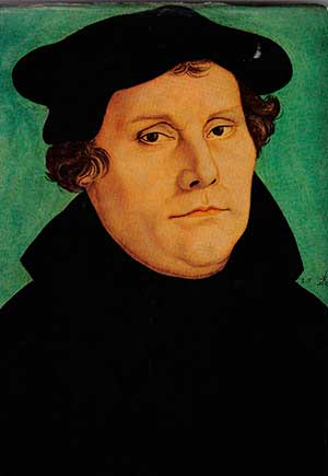 reforma protestante Martin Lutero