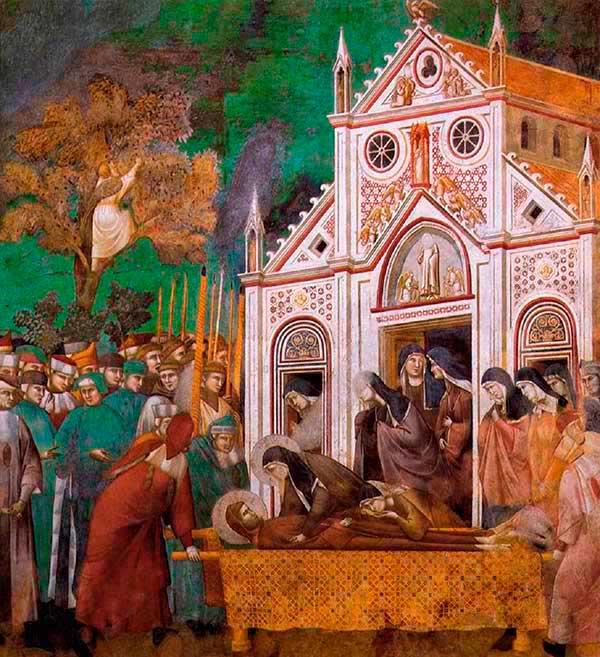 renacimiento giotto basilica san francisco asis
