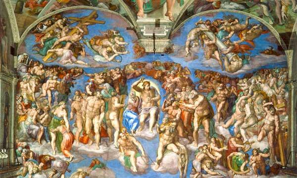 renacimiento italiano capilla sixtina juicio final