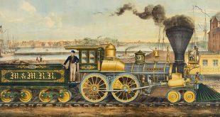 revolucion industrial locomotora