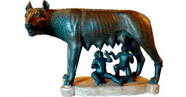 Romulo y Remo fundacion de roma