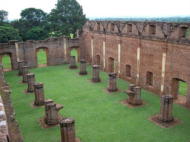 ruinas paraguay jesuitas