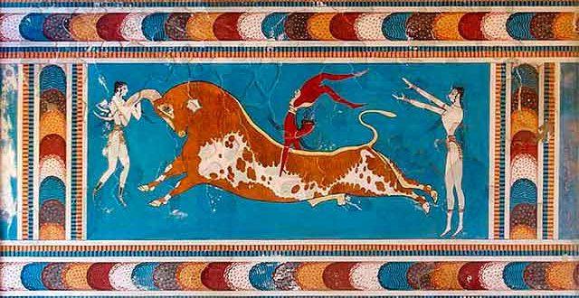 Salto del Toro Palacio Knossos