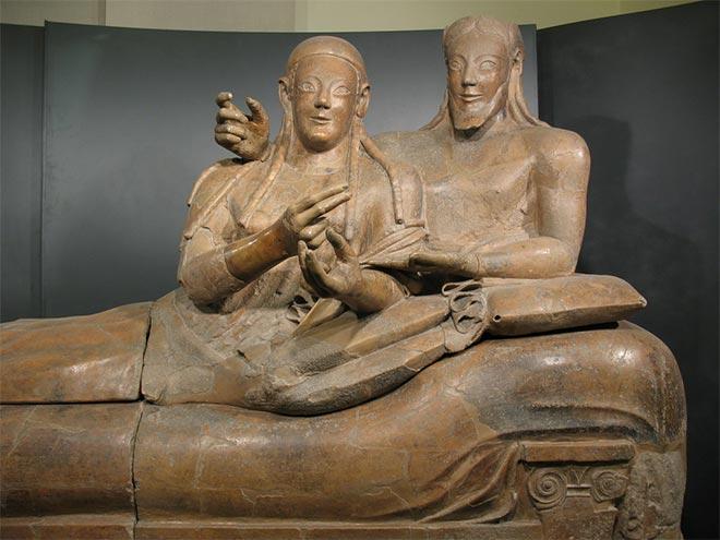Sarcofago etrusco