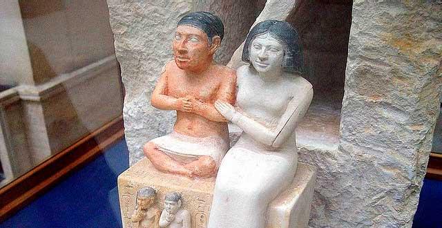 seneb y su mujer