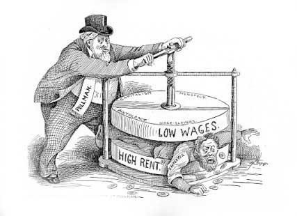 caricatura socialismo capitalismo