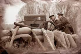 Soldados en Trincheras gran guerra